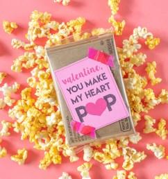 DIY Printable School Valentine's Day Cards For Kids   POPSUGAR Family [ 2003 x 2003 Pixel ]