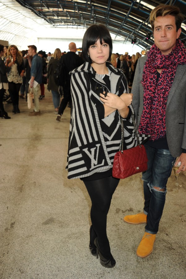 Lily Allen London Fashion Week Popsugar Moms