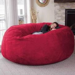 Amazon Com Living Room Furniture Black White And Cream Ideas Chillsack Beanbag On Popsugar Family