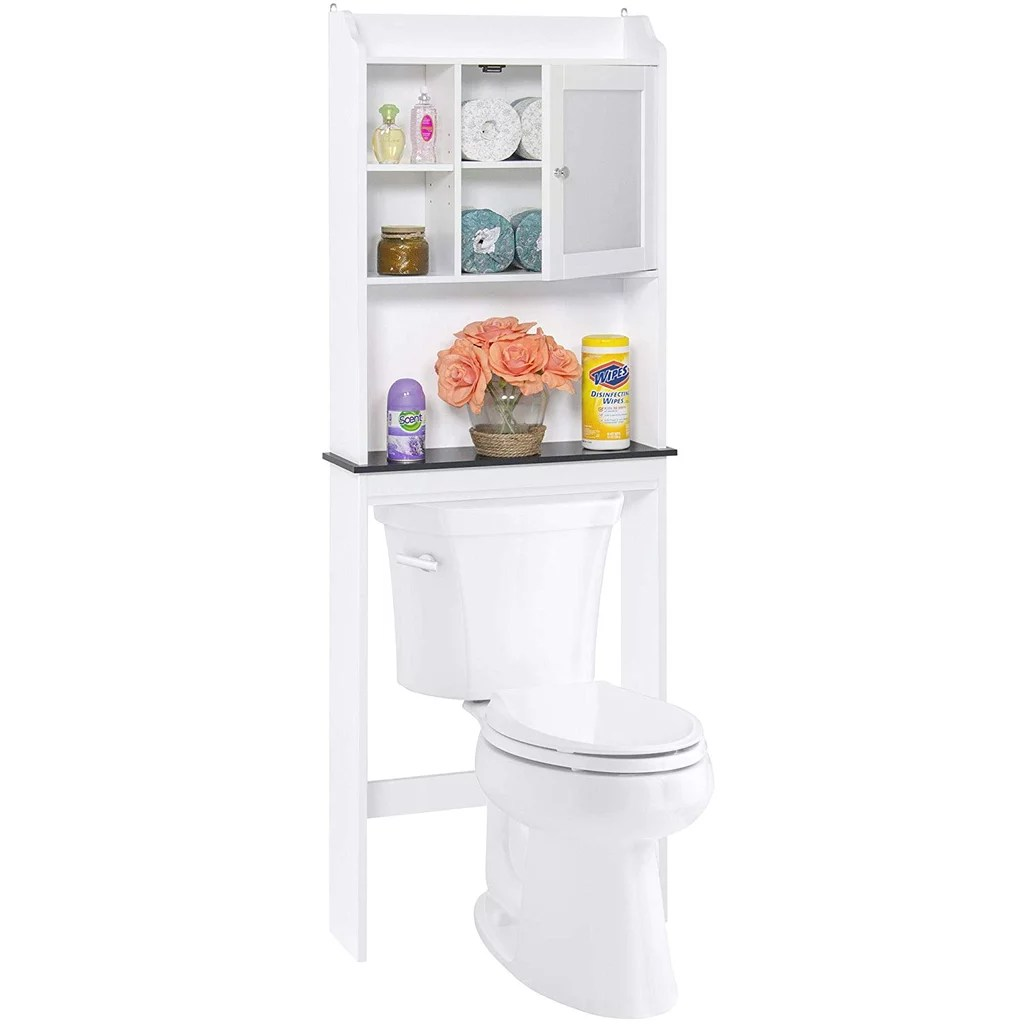 Best Choice Products Modern Over The Toilet Storage Best Storage Products From Amazon Popsugar Uk Parenting Photo 12
