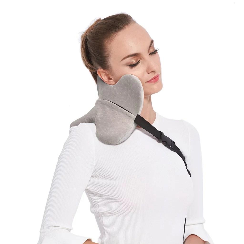 VereTrip Memory Foam Travel Neck Pillow
