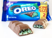 Oreo Mint Flavored Chocolate Candy Bar Review | POPSUGAR Food