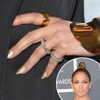 Jennifer Lopez | Celebrity Nails From the 2013 Award Shows ...