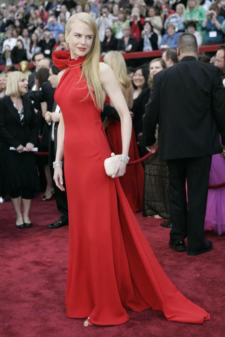 Nicole wearing Balenciaga at the Oscars in 2007  Nicole