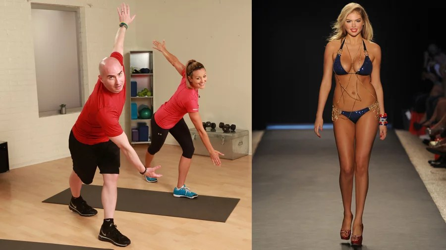 The Workouts Supermodels Use To Get In Shape Popsugar
