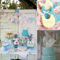 Vintage-Themed Baby Shower | POPSUGAR Moms