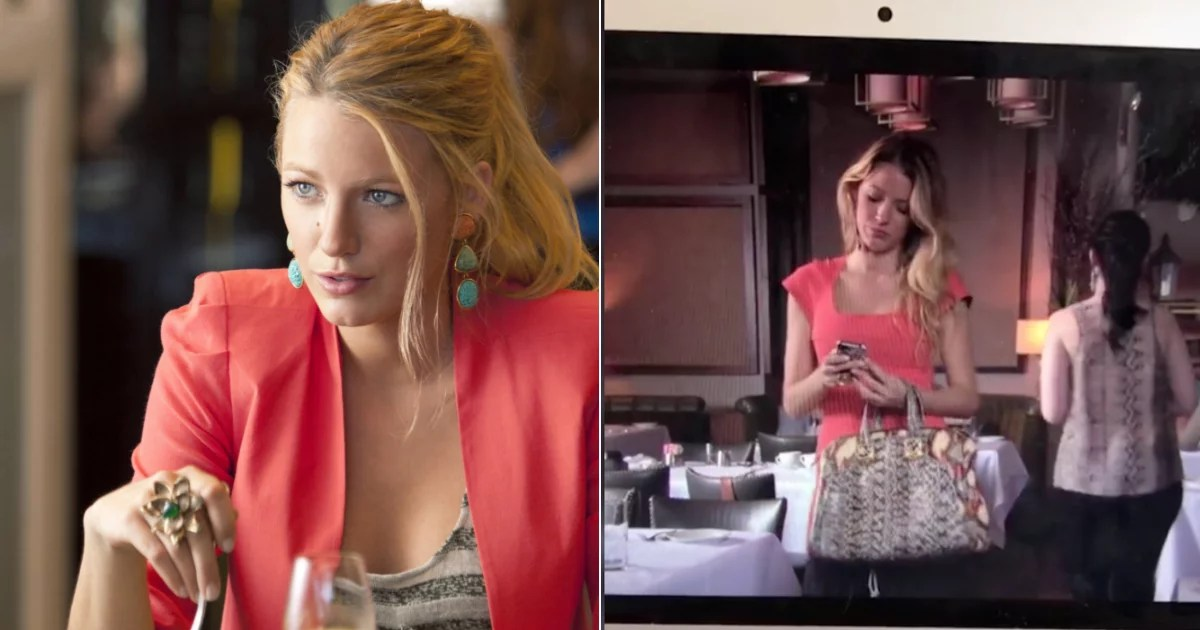 TikTok Caught Blake Lively Wearing Sweatpants Over Her Bodycon Dress in Gossip Girl, and Honestly? Same