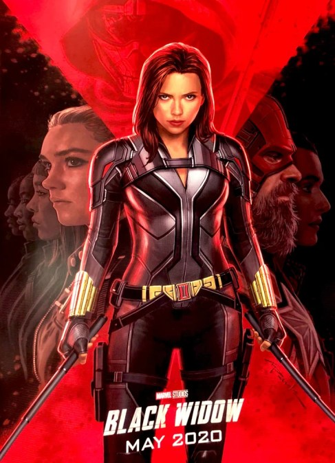 Image result for black widow poster