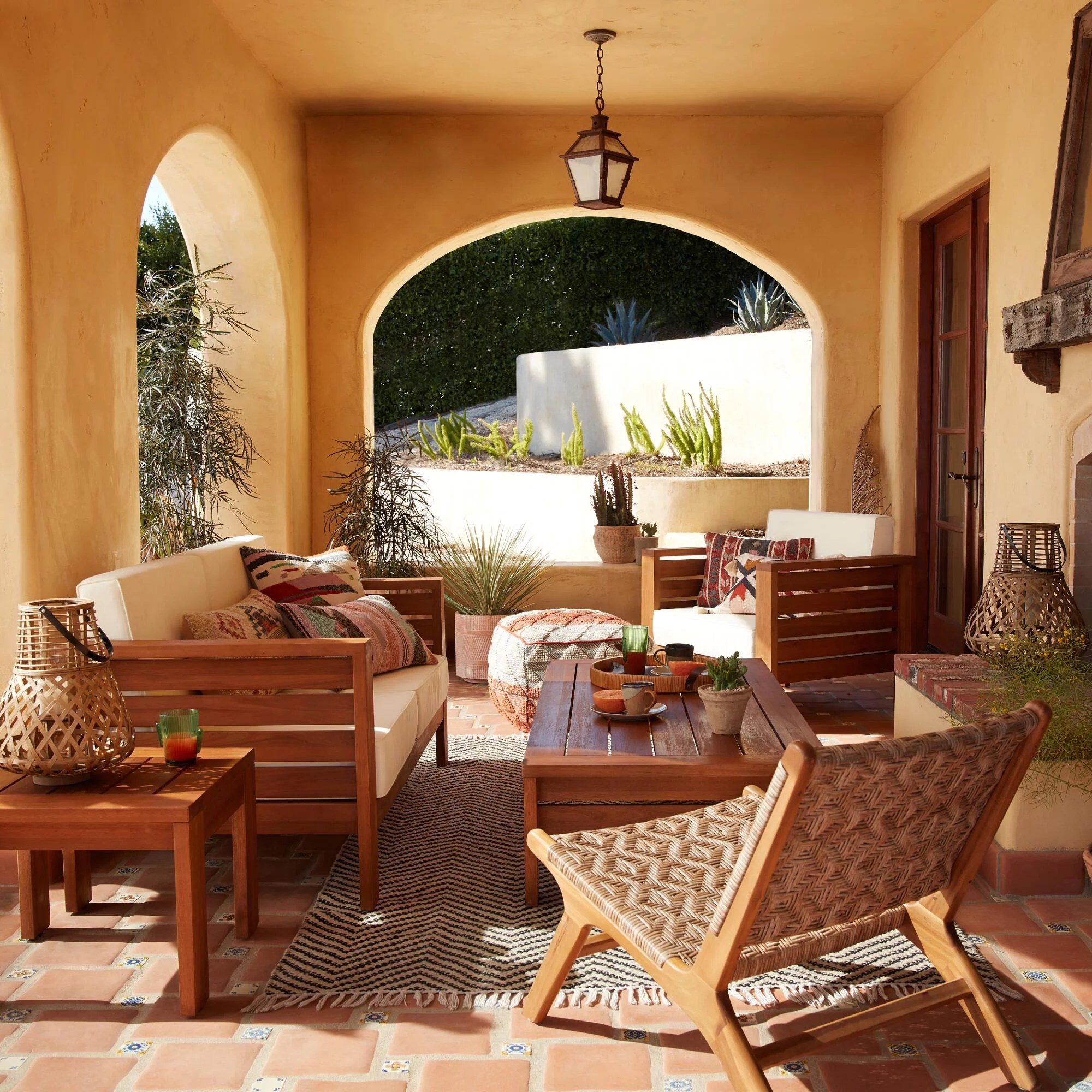 outdoor furniture from world market