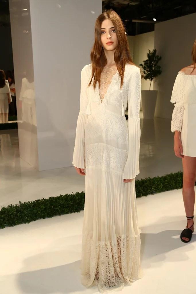 Rachel Zoe  Wedding Dress Ideas From Spring 2016 Runways
