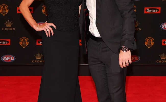 Trent And Brooke Cotchin 2016 Brownlow Medal Red Carpet