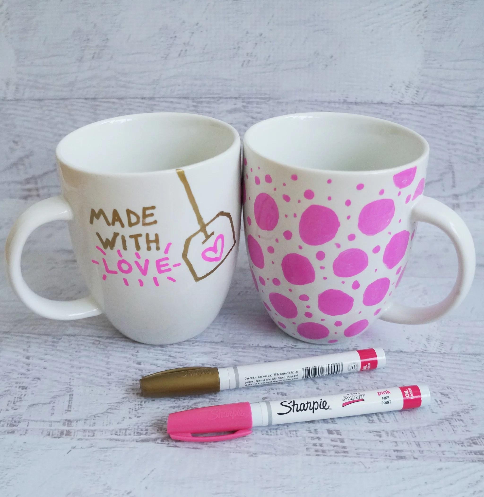 Sharpie Mug DIY Project POPSUGAR Smart Living