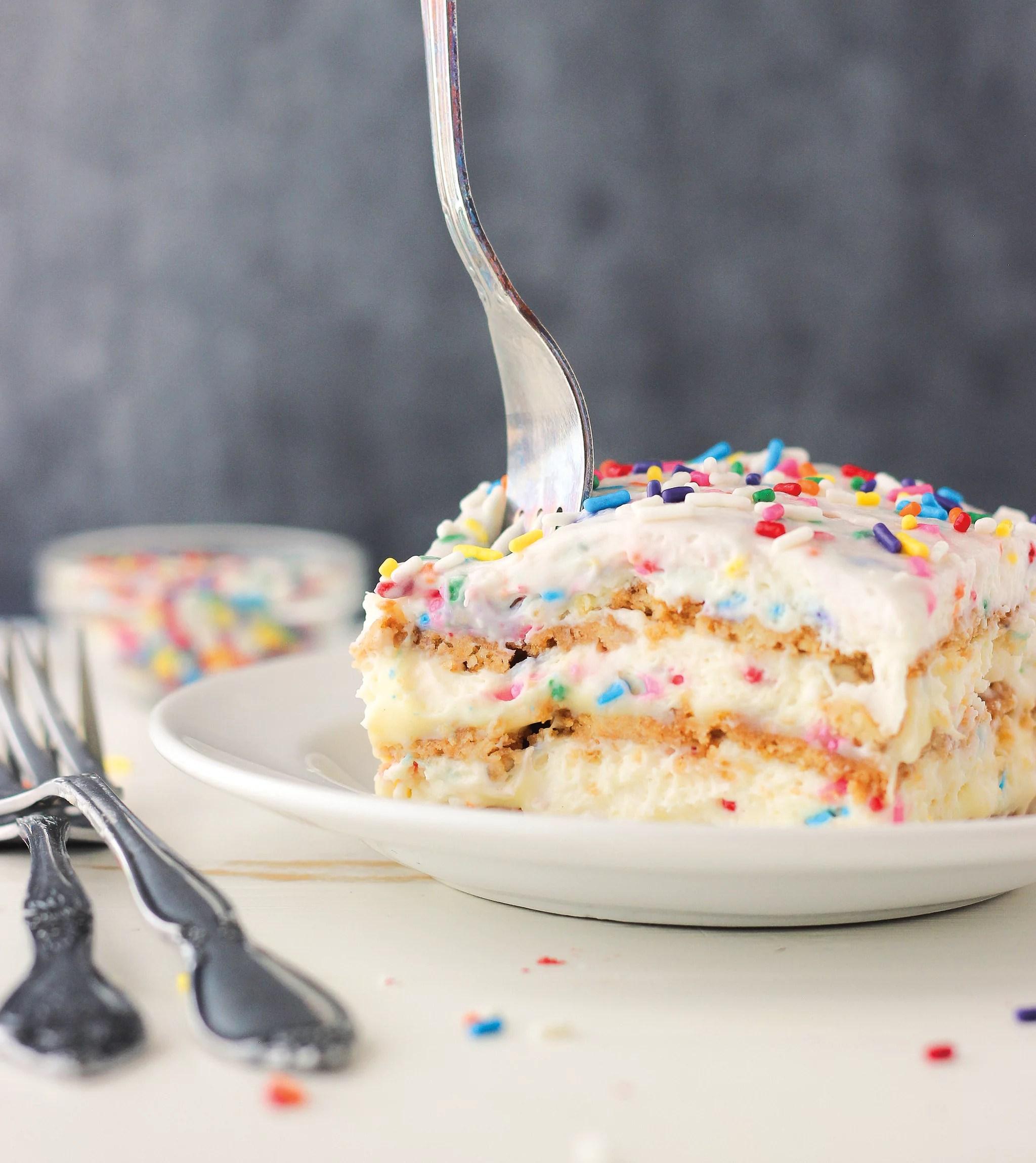 Birthday Cake Lasagna Recipe Popsugar Food