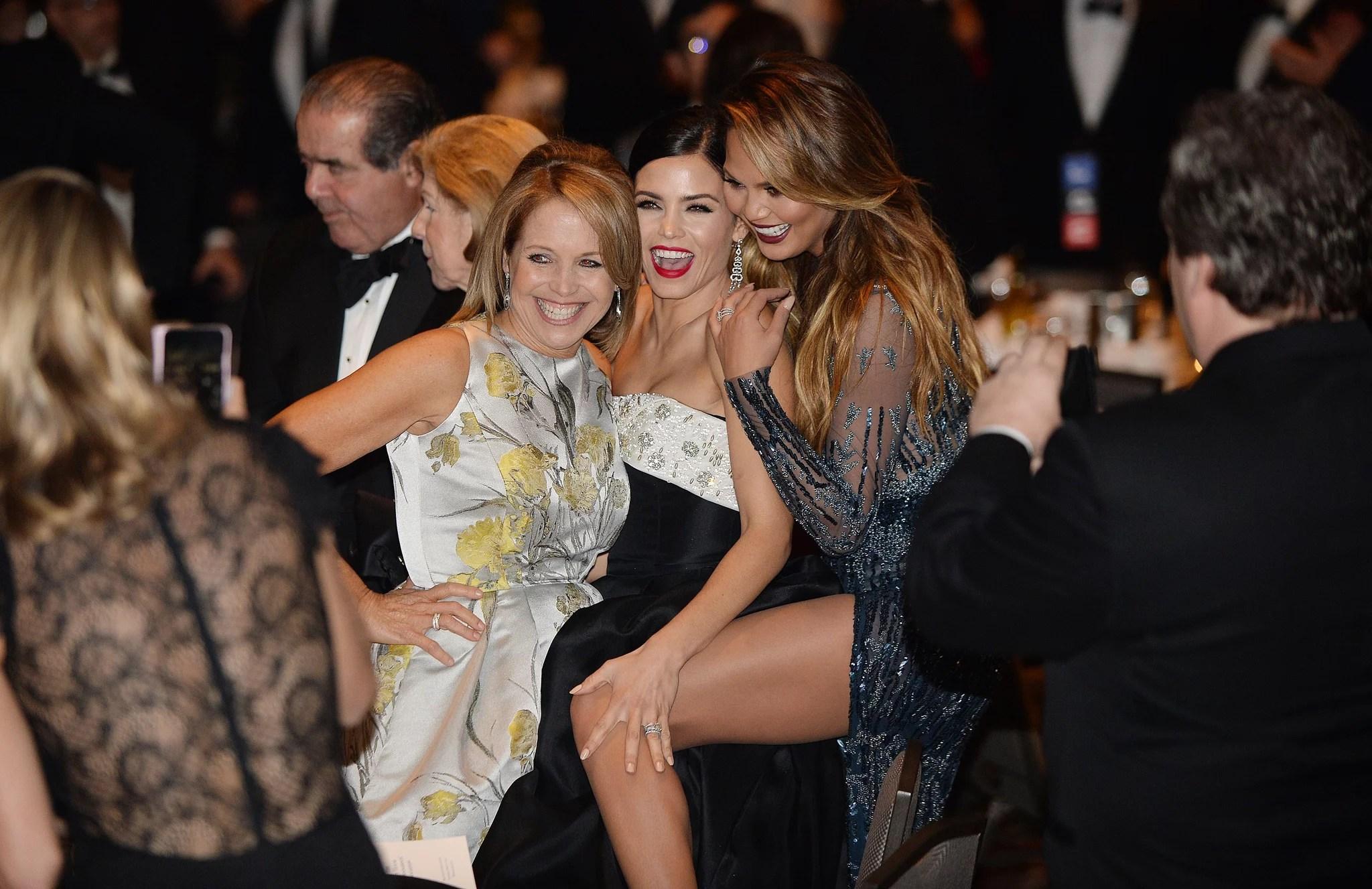 Katie Couric Jenna Dewan And Chrissy Teigen Stars Have