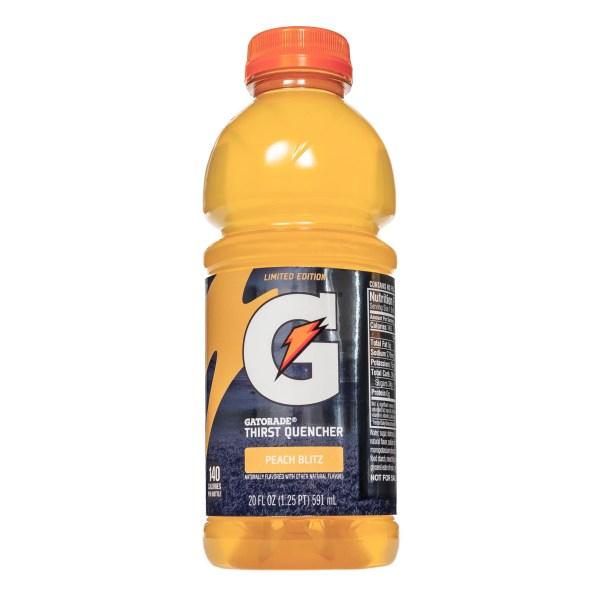 Gatorade Peach Blitz Flavor 2019 Popsugar Fitness