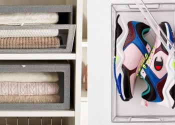 Over Your Tiny Closet? These 18 Space-Saving Organizers Are Calling Your Name