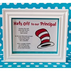 Dr Seuss Chair Children S Writing Desk And Hats Off To The Principal | Teacher Appreciation Party Popsugar Family Photo 6