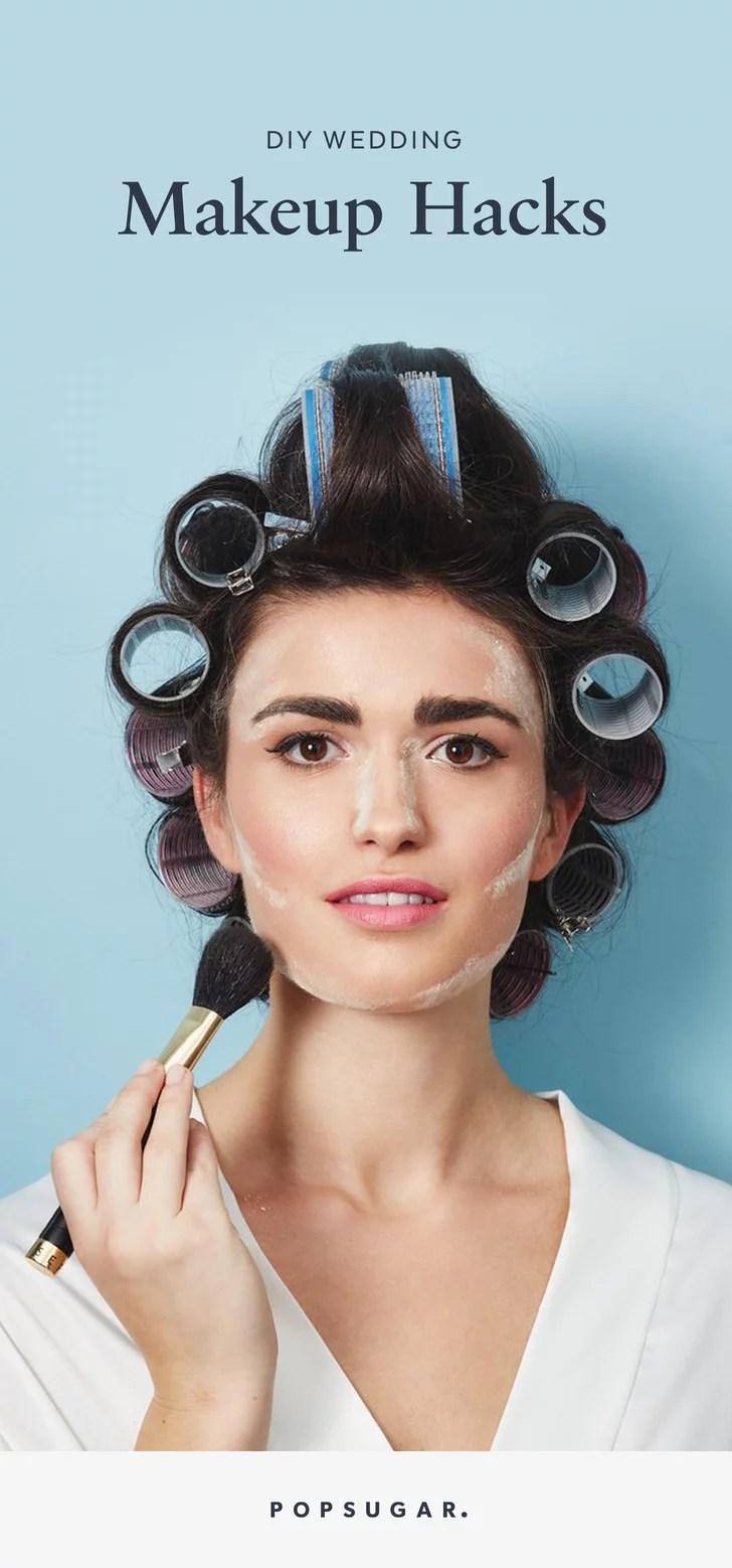 Wedding Makeup Hacks  POPSUGAR Beauty