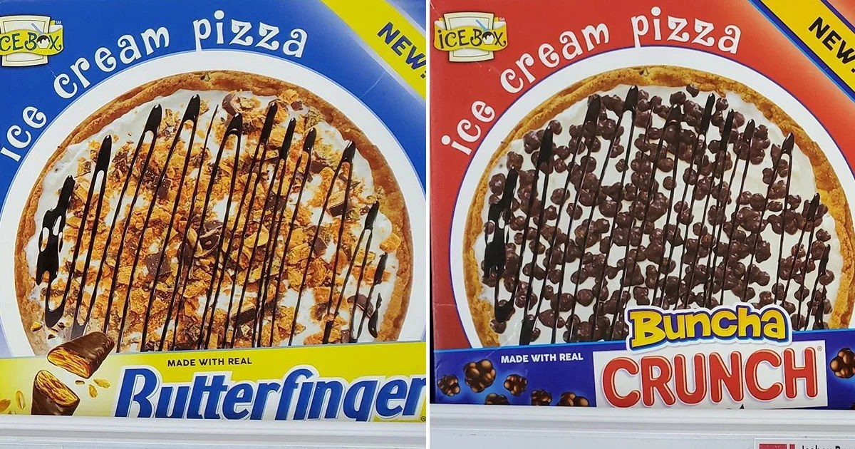These Butterfinger and Buncha Crunch Ice Cream Pizzas Are What Our Dreams Are Made Of