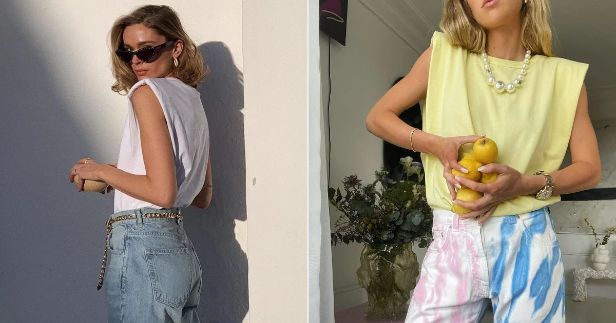 Photo of Why We're Ditching Our Sweatsuits For Muscle Tees and Jeans This Summer