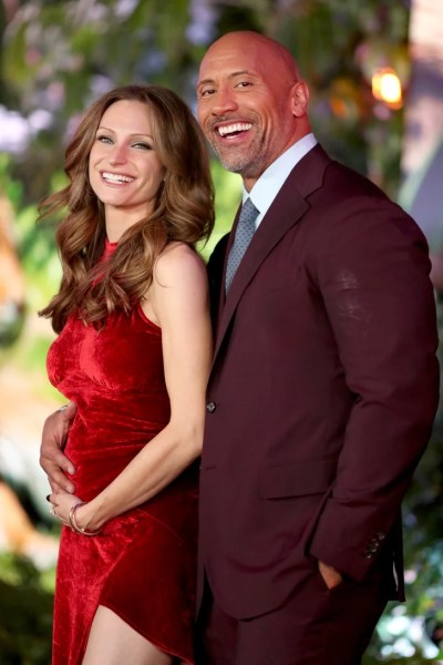 lauren hashian Dwayne Johnson and Lauren Hashian | Pregnant Celebrities
