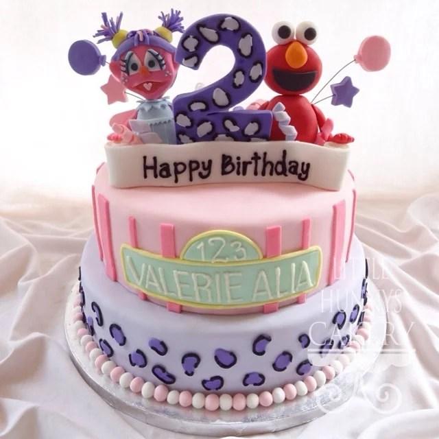 Abby And Elmo Girls Birthday Cakes Popsugar Family Photo 13