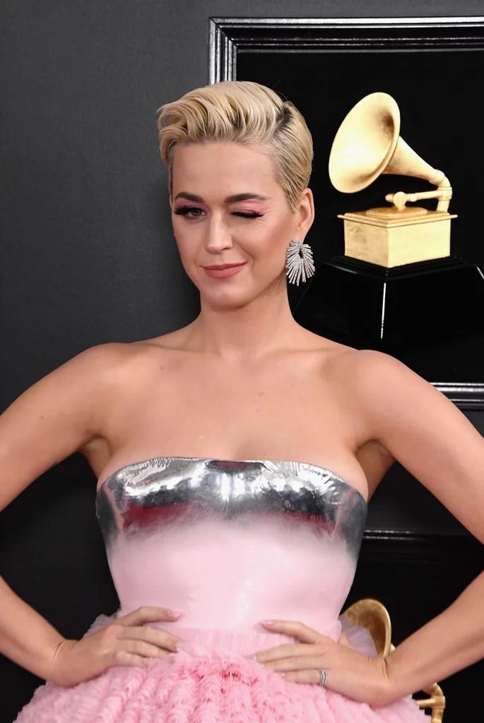 Katy Perry Balmain Dress At The 2019 Grammys POPSUGAR