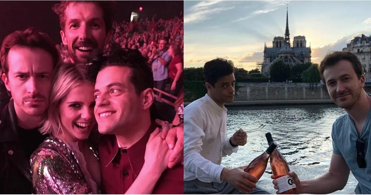 Bohemian Rhapsody Cast Hanging Out  POPSUGAR Entertainment
