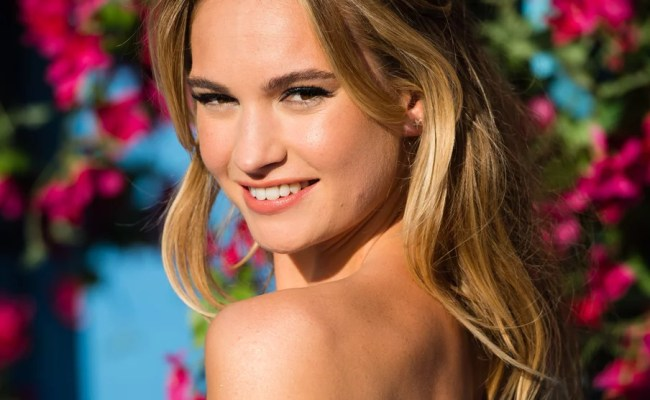 Lily James Talks About Finding Roles Different To