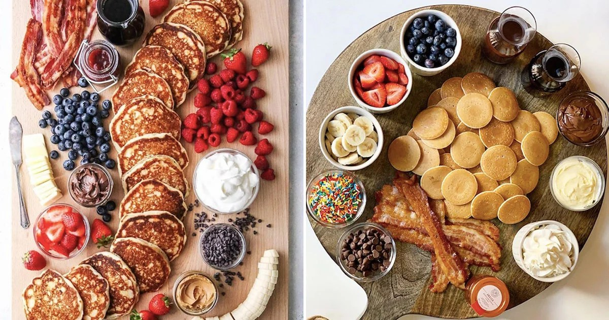 Pancake Charcuterie Boards Are a Factor, So Please Pass the Syrup