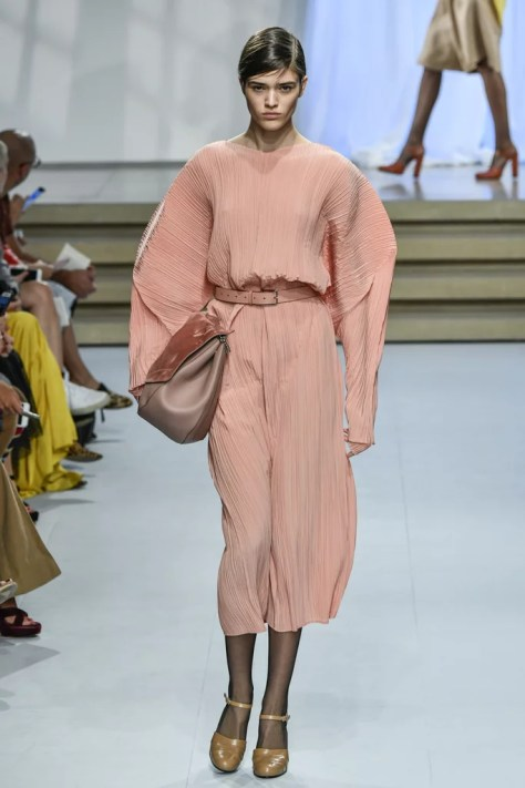 The Spring Jil Sander collection was revealed at Milan Fashion Week on Sept. 24.
