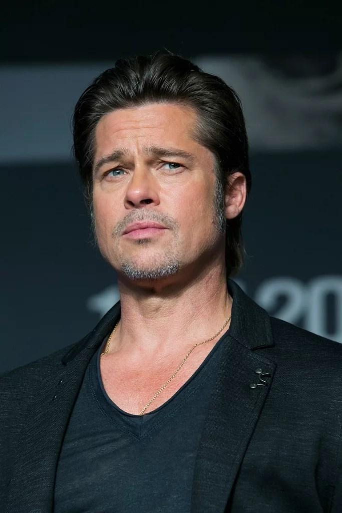 Brad Pitt Best Hair Moments  POPSUGAR Beauty