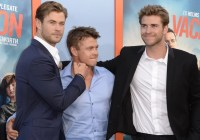 Chris Hemsworth and His Brothers at the LA Vacation ...