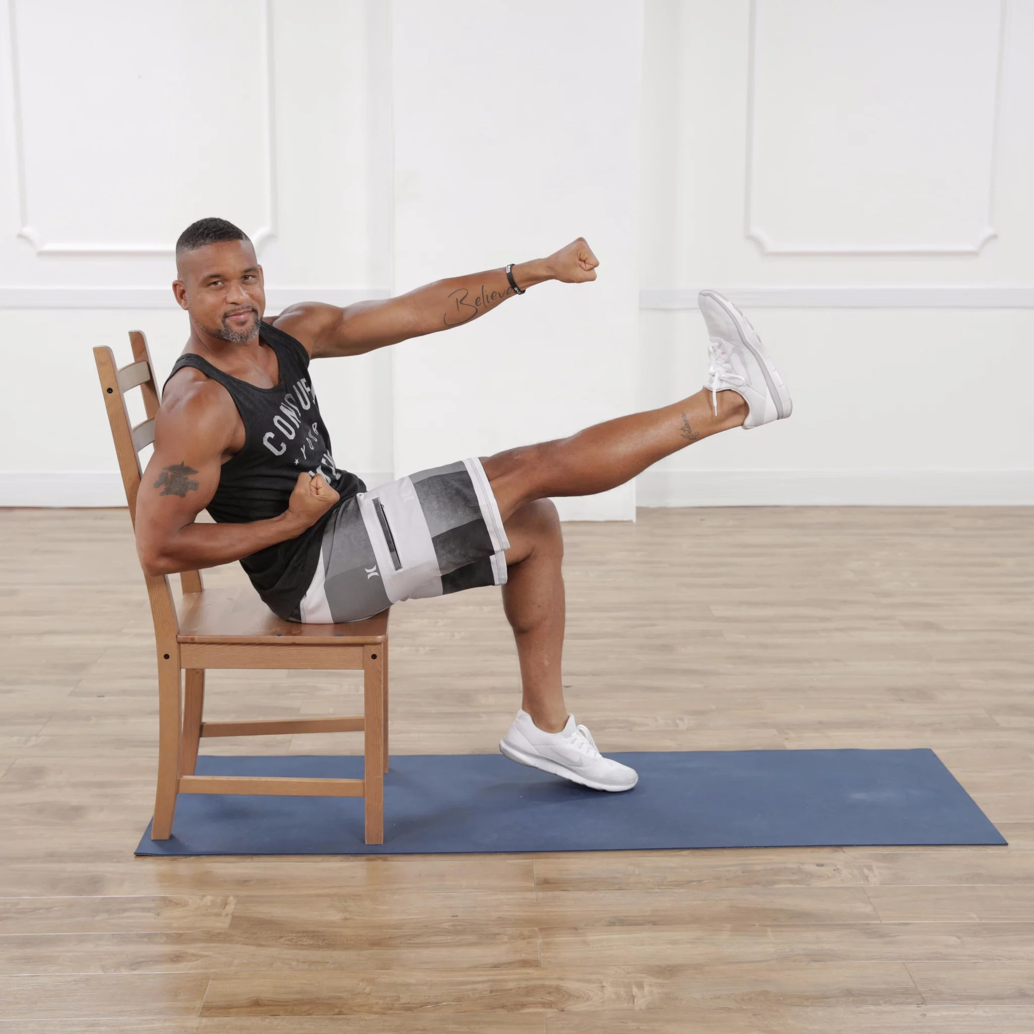 Chair Exercises For Obese Shaun T Standing Ab Workout Eoua Blog