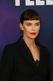 charlize theron's bangs hairstyle