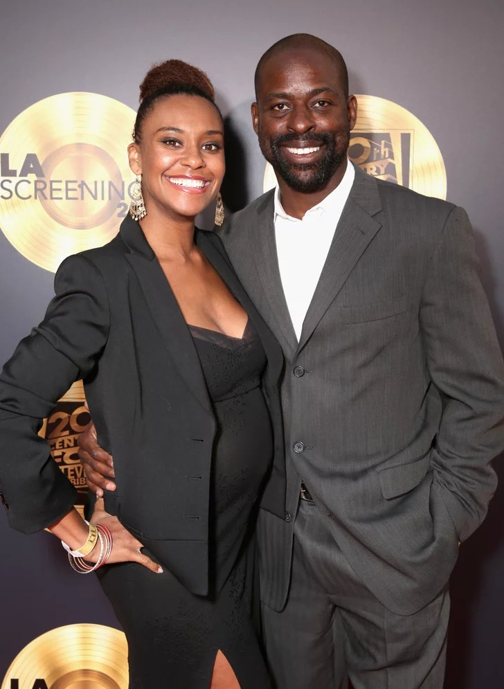 Sterling K Brown and Ryan Michelle Bathe Pictures