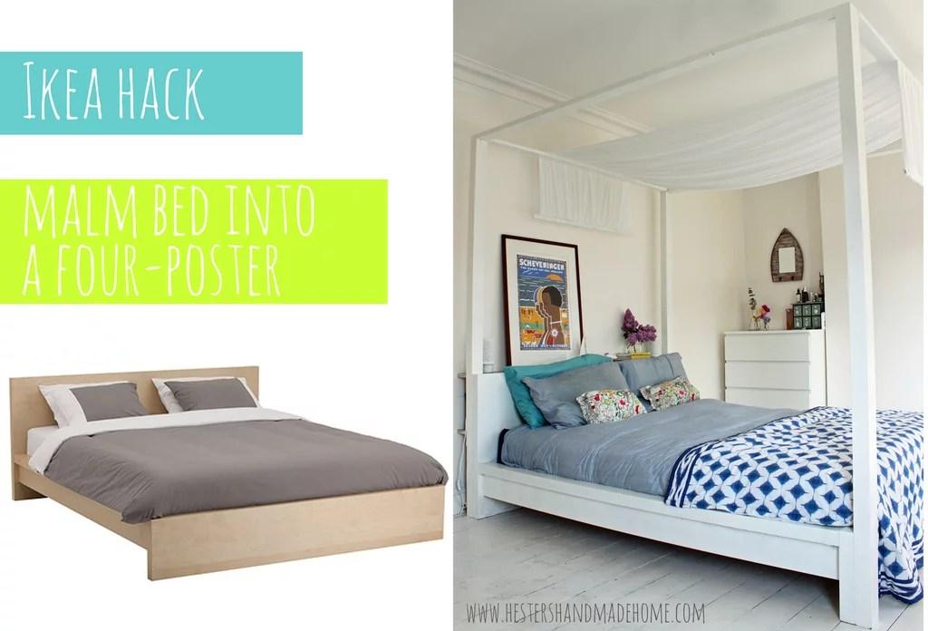 FourPoster Bed  Ikea Bed Hacks  POPSUGAR Home Photo 4