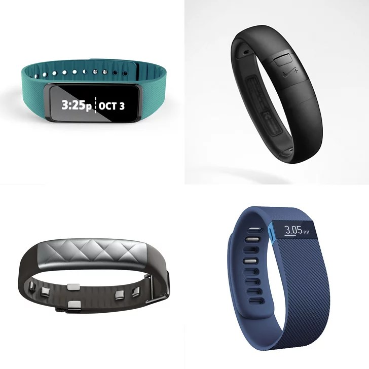 Comparison of Nike FuelBand FitBit Jawbone Up and More  POPSUGAR Fitness Australia