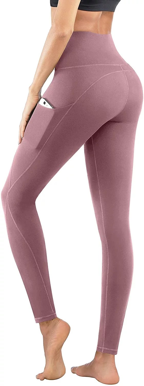 Yoga Pants Pics : pants, Phisockat, Waist, Pants, Pockets, Resist, Leggings?, These, Top-Rated, Pairs, Amazon, Start, POPSUGAR, Fitness, Photo
