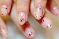 Pressed Flower Nails Spring 2017 | POPSUGAR Beauty UK