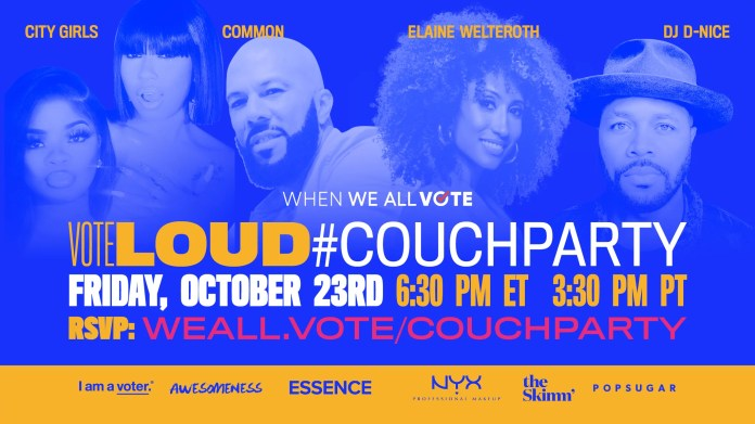 Frequent to Cohost Last When We All Vote #CouchParty