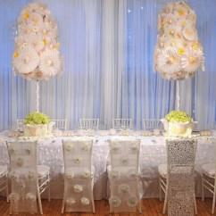 Wedding Chair Covers Preston Wingback Desk Diy Paper Table Settings Popsugar Home