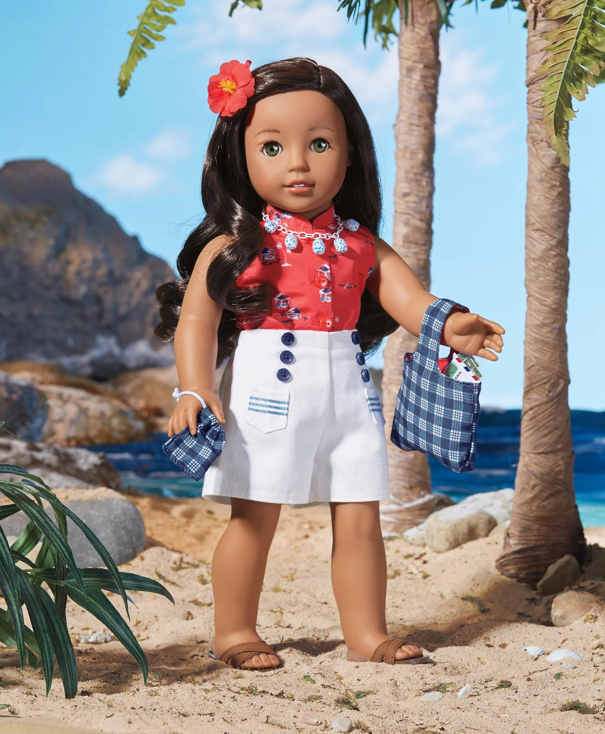 American Girl S Korean And Hawaiian Dolls
