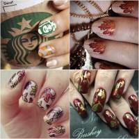 DIY Fall Nail Art Ideas   POPSUGAR Beauty