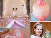 A Pink and Blue Sleeping Beauty Party | Best Birthday ...