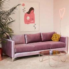 Tufted Sofa Velvet Bed Desk Lavender Home Decor | Popsugar