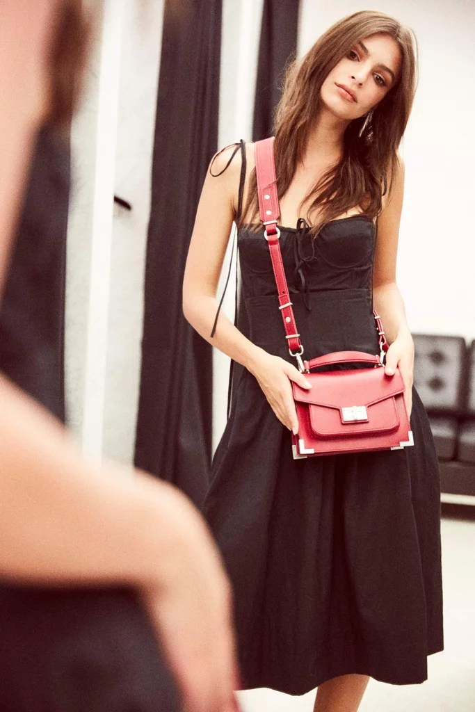 Emily Ratajkowski X The Kooples POPSUGAR Fashion Middle East