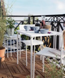 Ikea Outdoor Furniture Small Spaces Popsugar Home