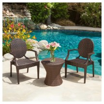Adriana Wicker Chat Set Target Outdoor Furniture