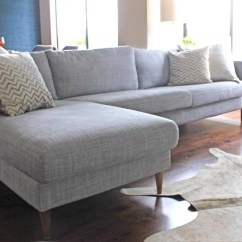 Kivik Sofa Chaise Fabric Protector | A Simple Hack That Makes An Ikea Look Like ...
